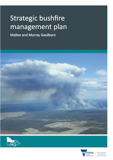 Strategic bushfire management plan Mallee and Murray Goulburn (cover)